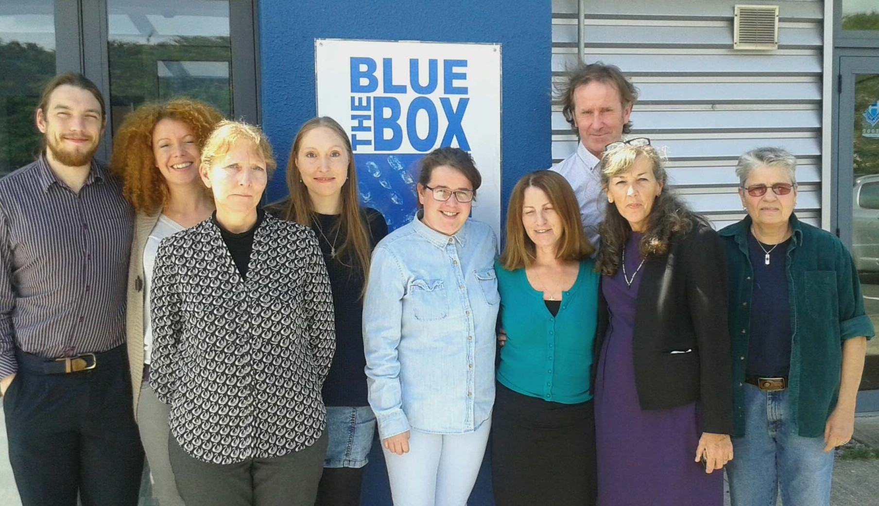 Lorna Byrne Blue Box charity fundraising event