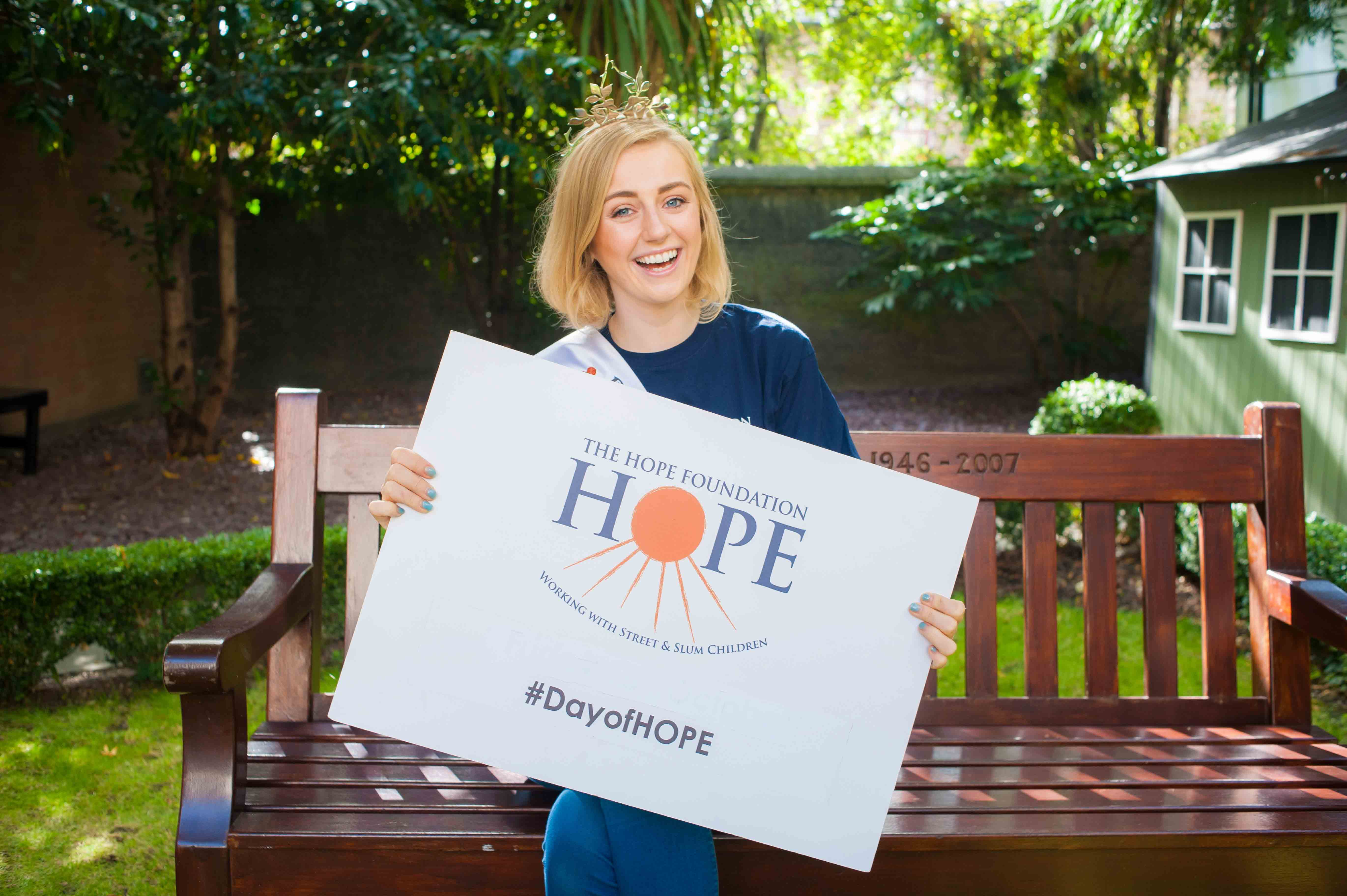 Take part in the annual national day of HOPE