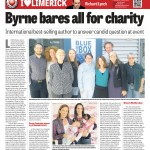 Byrne Bares All for Charity