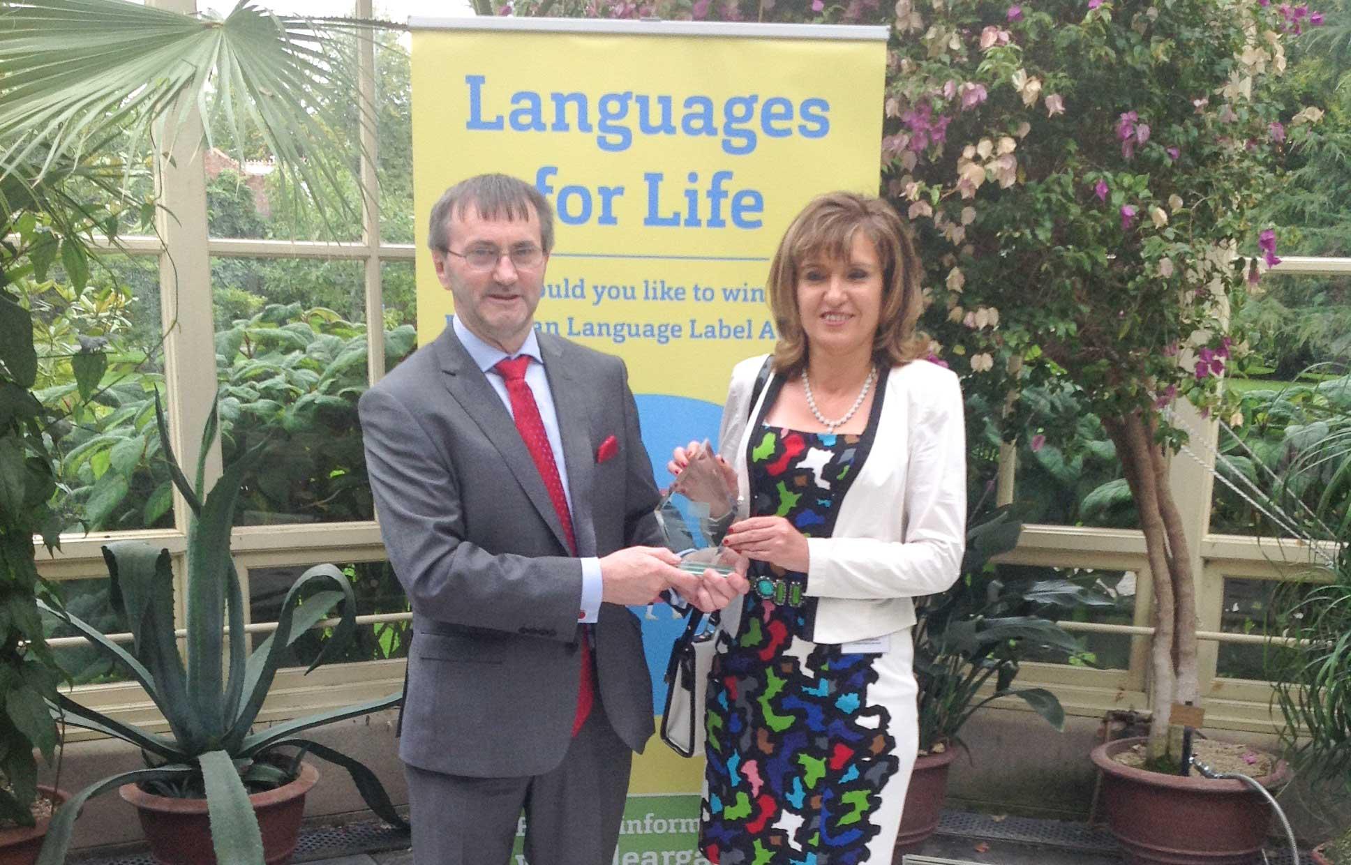 MIC lecturers receive European Language Label Award