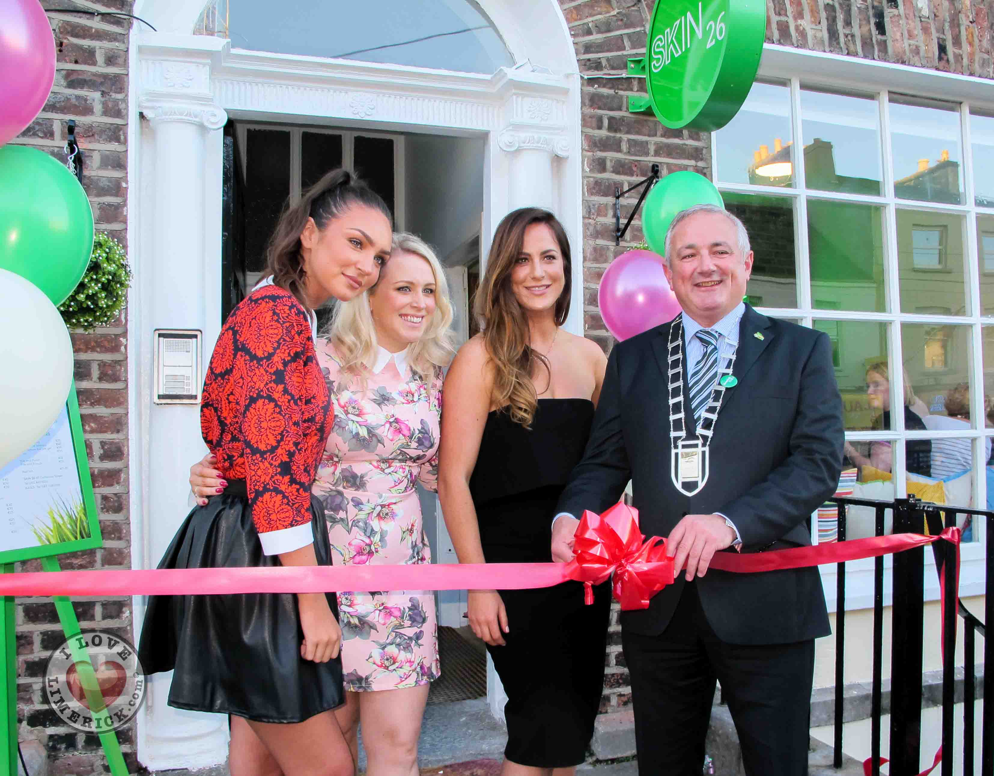 Skin26 opens its doors to the public at its launch on Catherine St