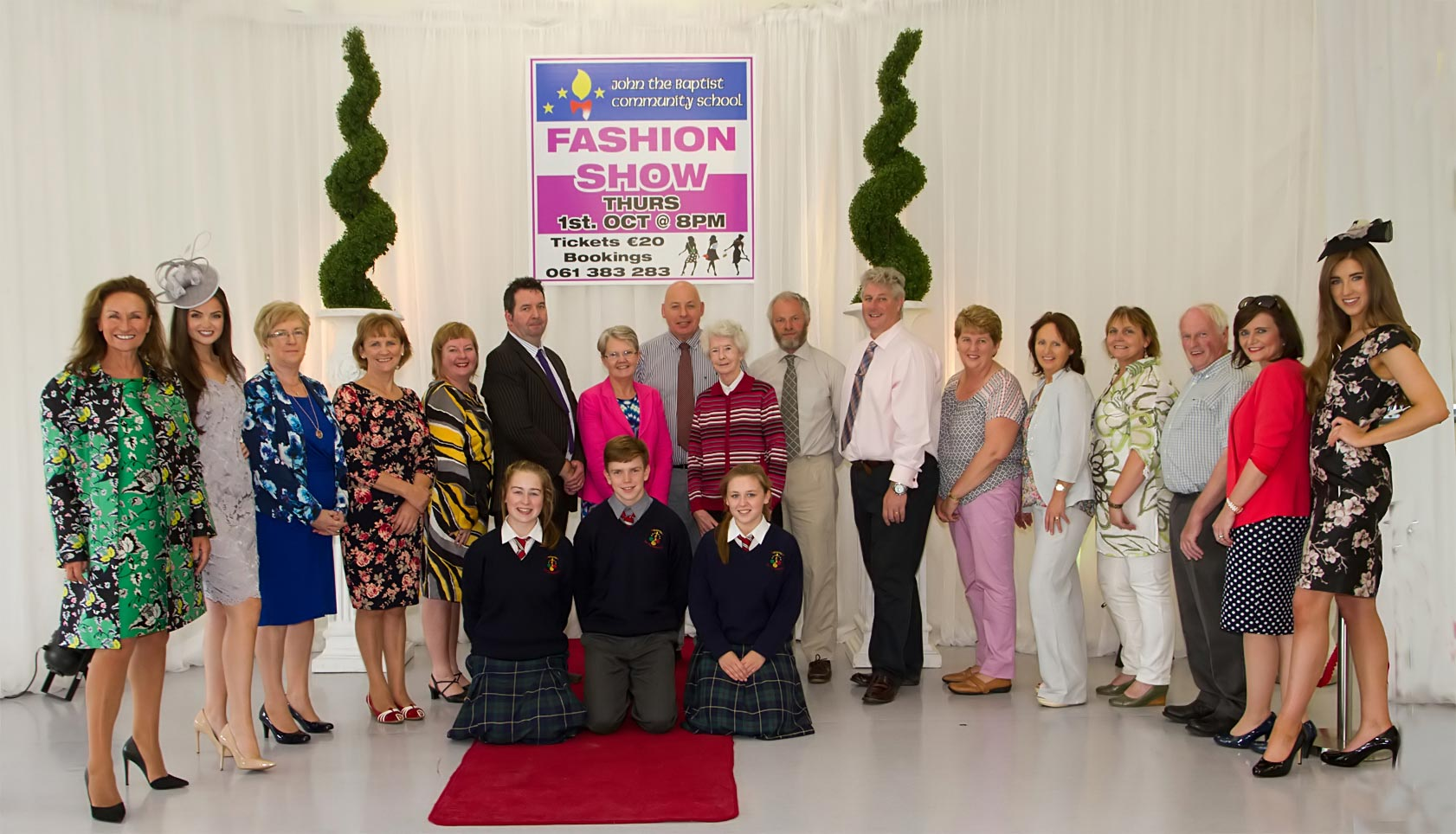Gala fashion show at John the Baptist Community School Hospital