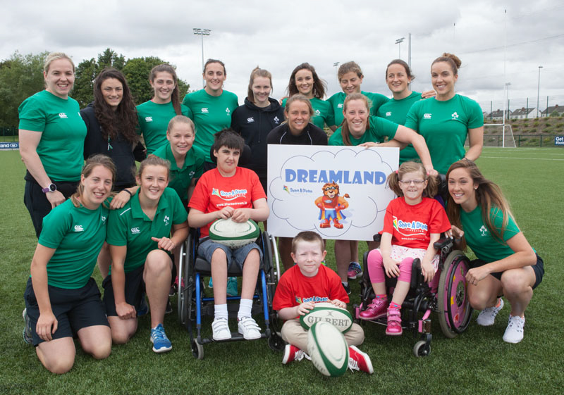 The Dreamland Challenge to be led by Irish Women's Rugby team