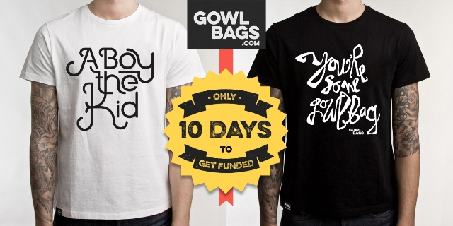 Pledge your support for Limerick creatives Gowlbags