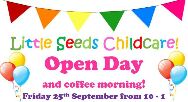 Little Seeds Childcare family fun day as part of the Live95fm Stop Tour Sept 25