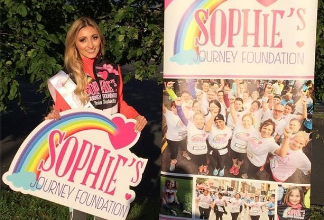 Sophies Journey Foundation Coffee Morning at The George Boutique Hotel Oct 29 Couch to 30k