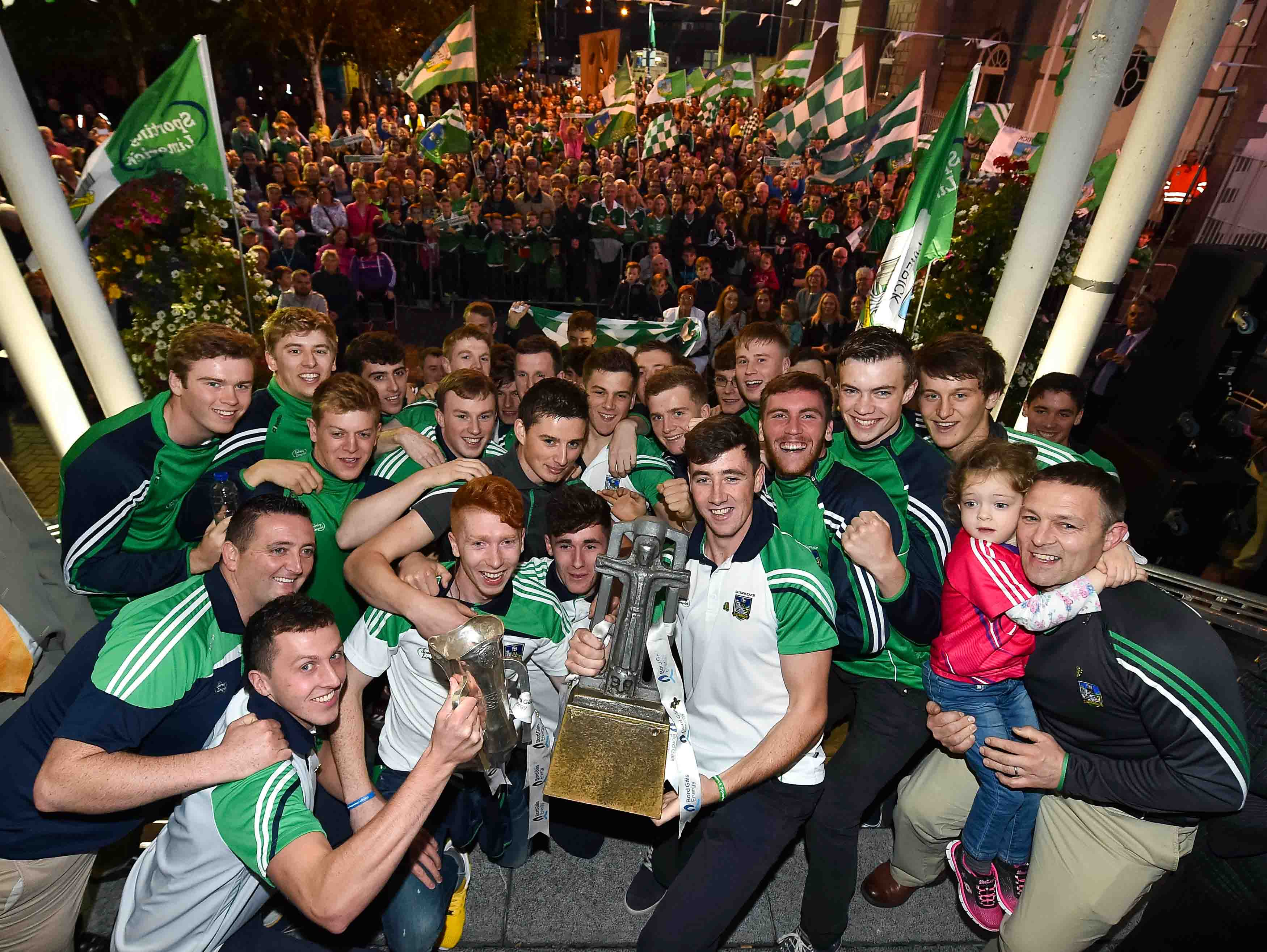 Homecoming for Limerick U21 Hurling Team