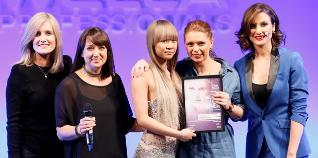 Limerick hairdresser in Wella Professionals Trend Vision Award UK & Ireland Final