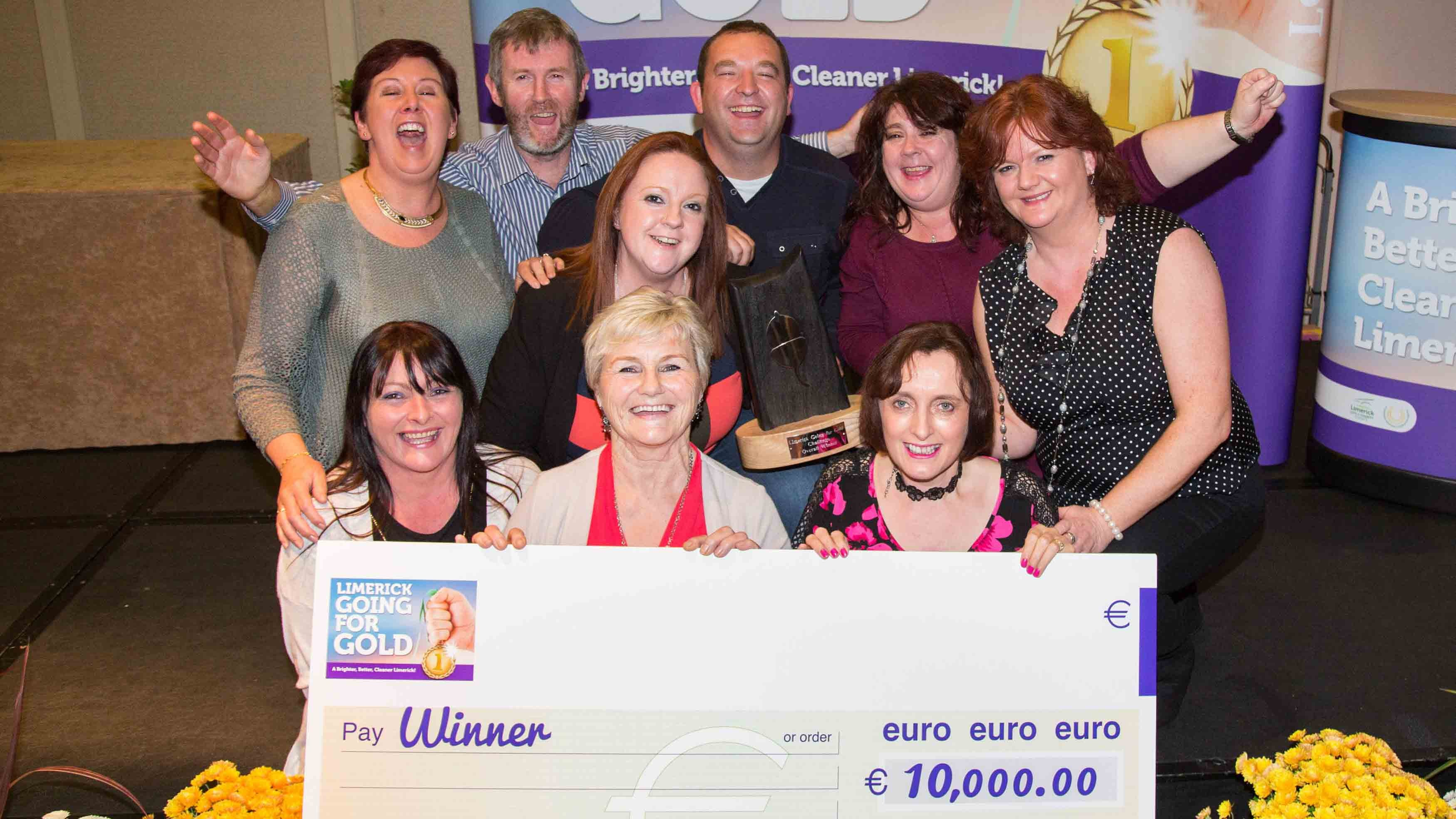 Castleconnell named as overall winner of the Limerick Going for Gold competition 2015