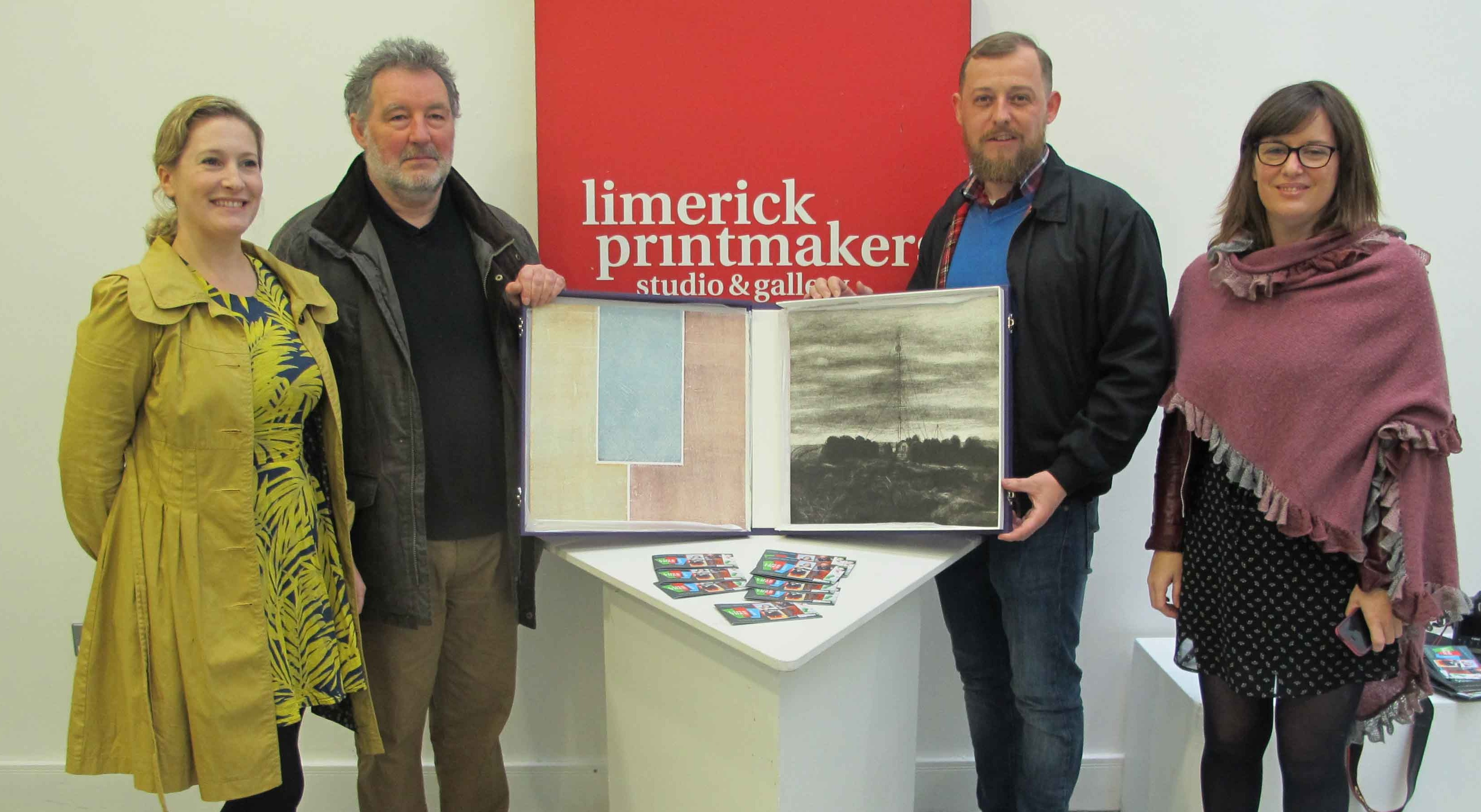 Limerick Printmakers announces curation of 69 O Connell St today