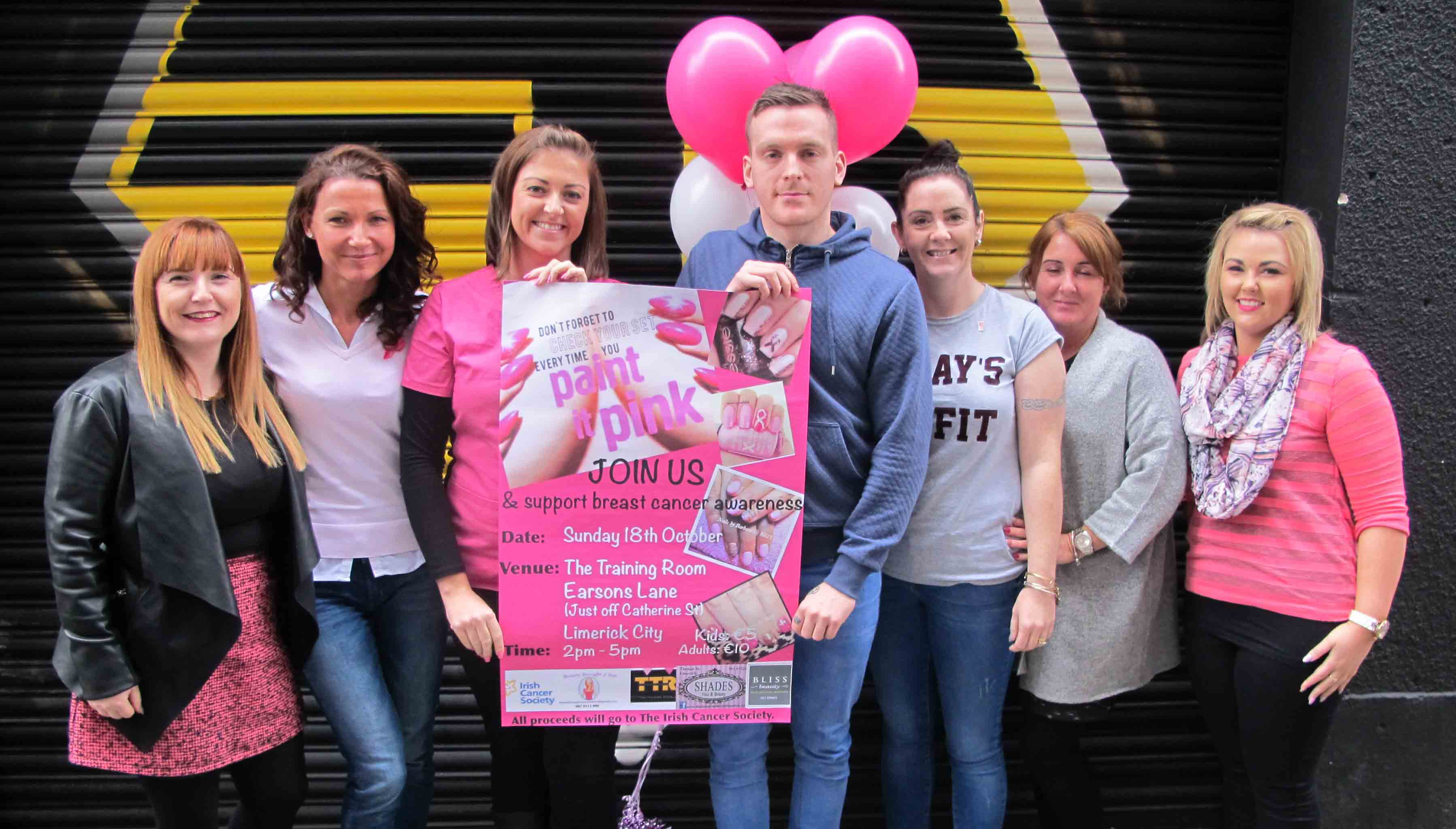 Paint it Pink fundraising event to raise funds for breast cancer awareness
