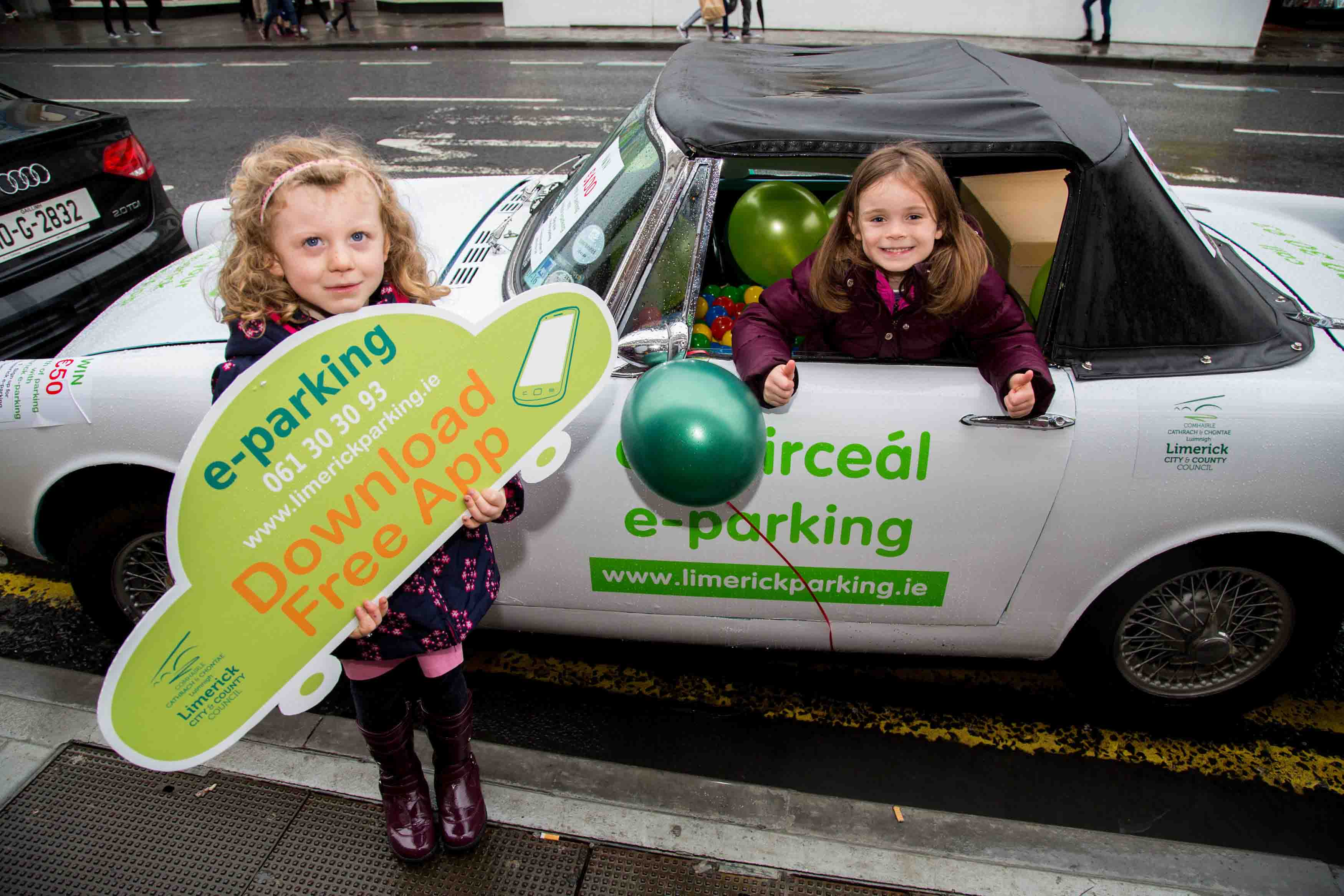 Limerick e-Parking launches in the city