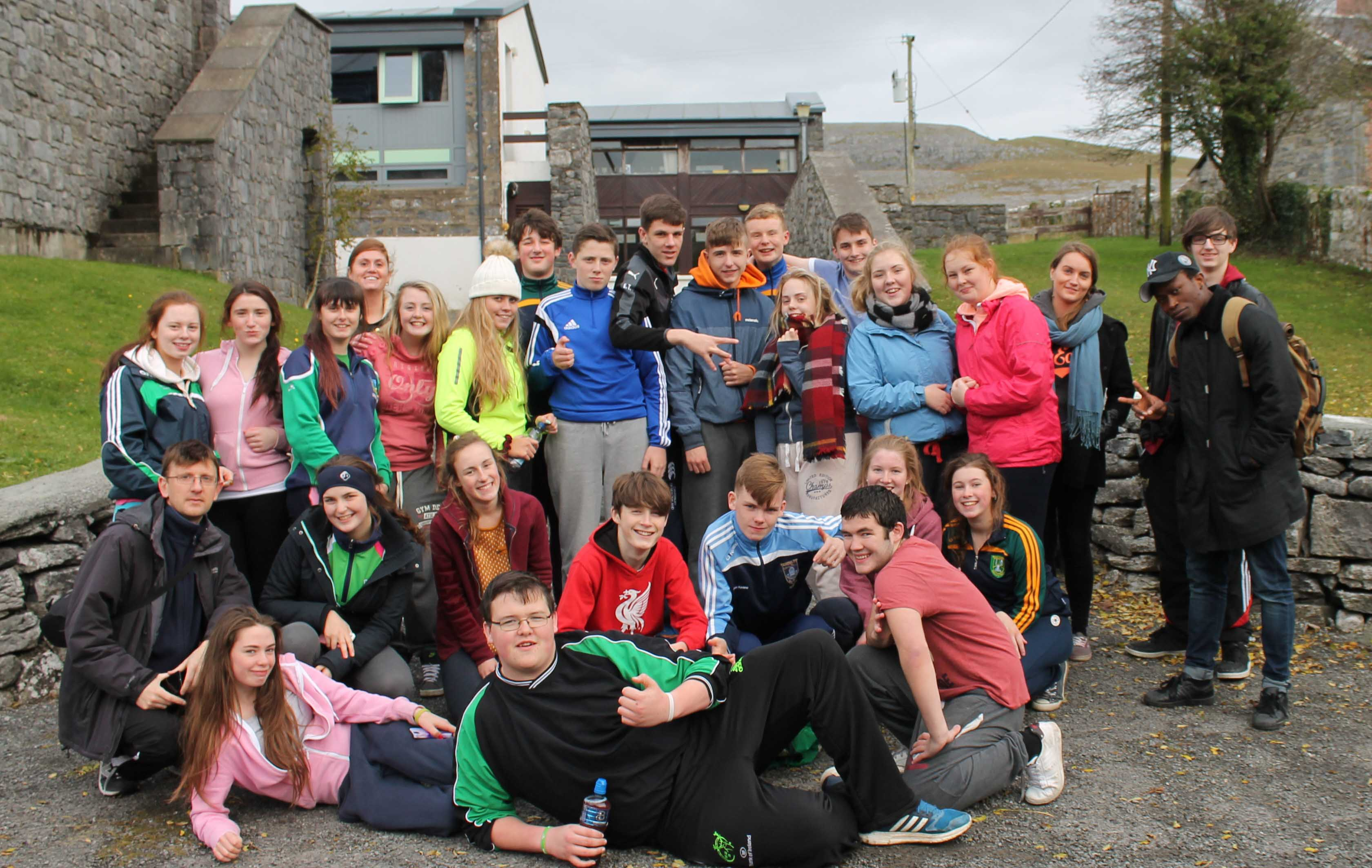 Junior Leadership training programme with Limerick Youth Service