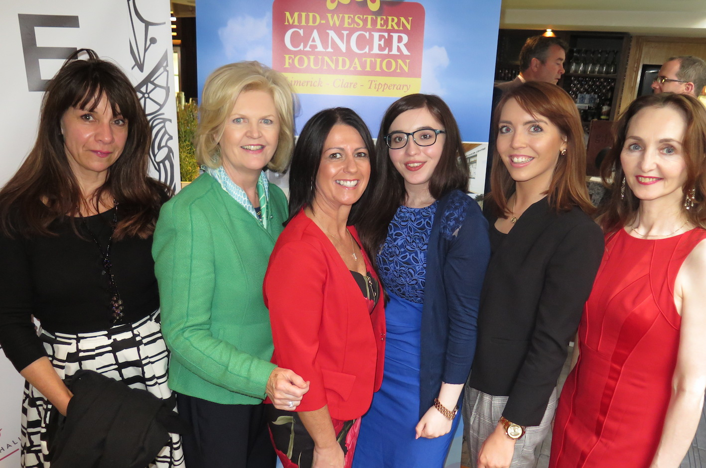 The staff and crew of the Limerick Cancer Information and Support Centre.