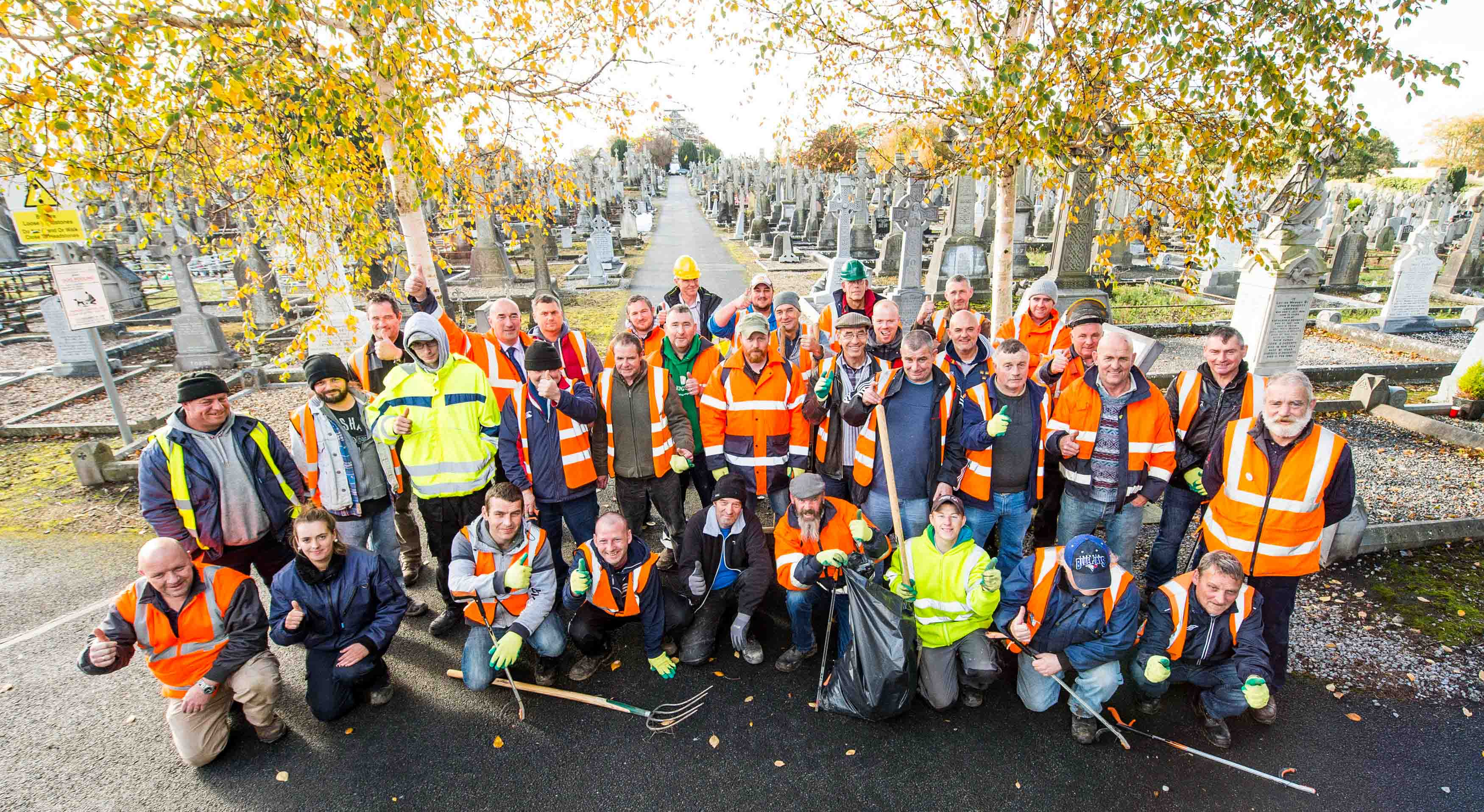 Limerick Civic Trust clean up