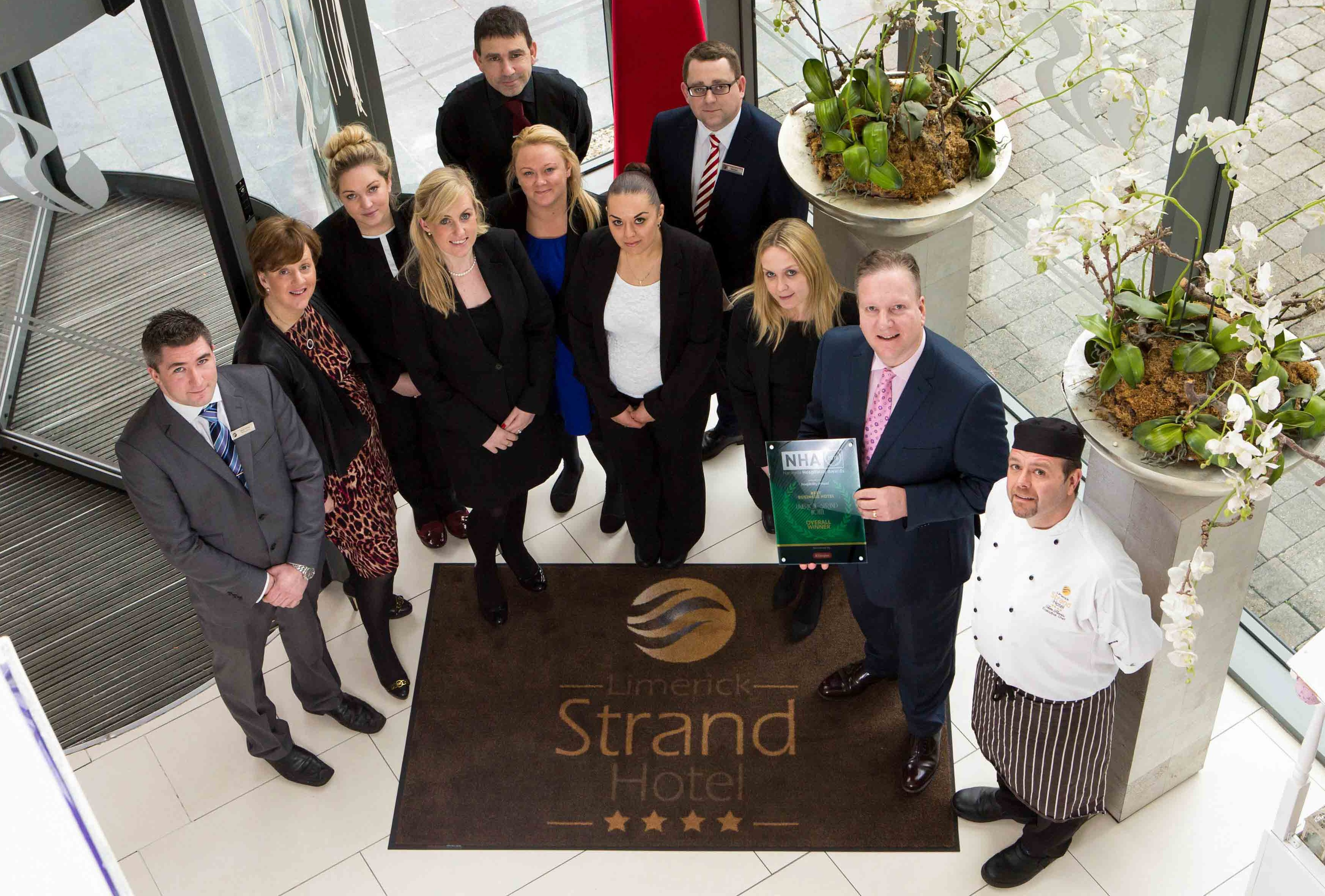 Limerick Strand rish Hotel Awards 2018