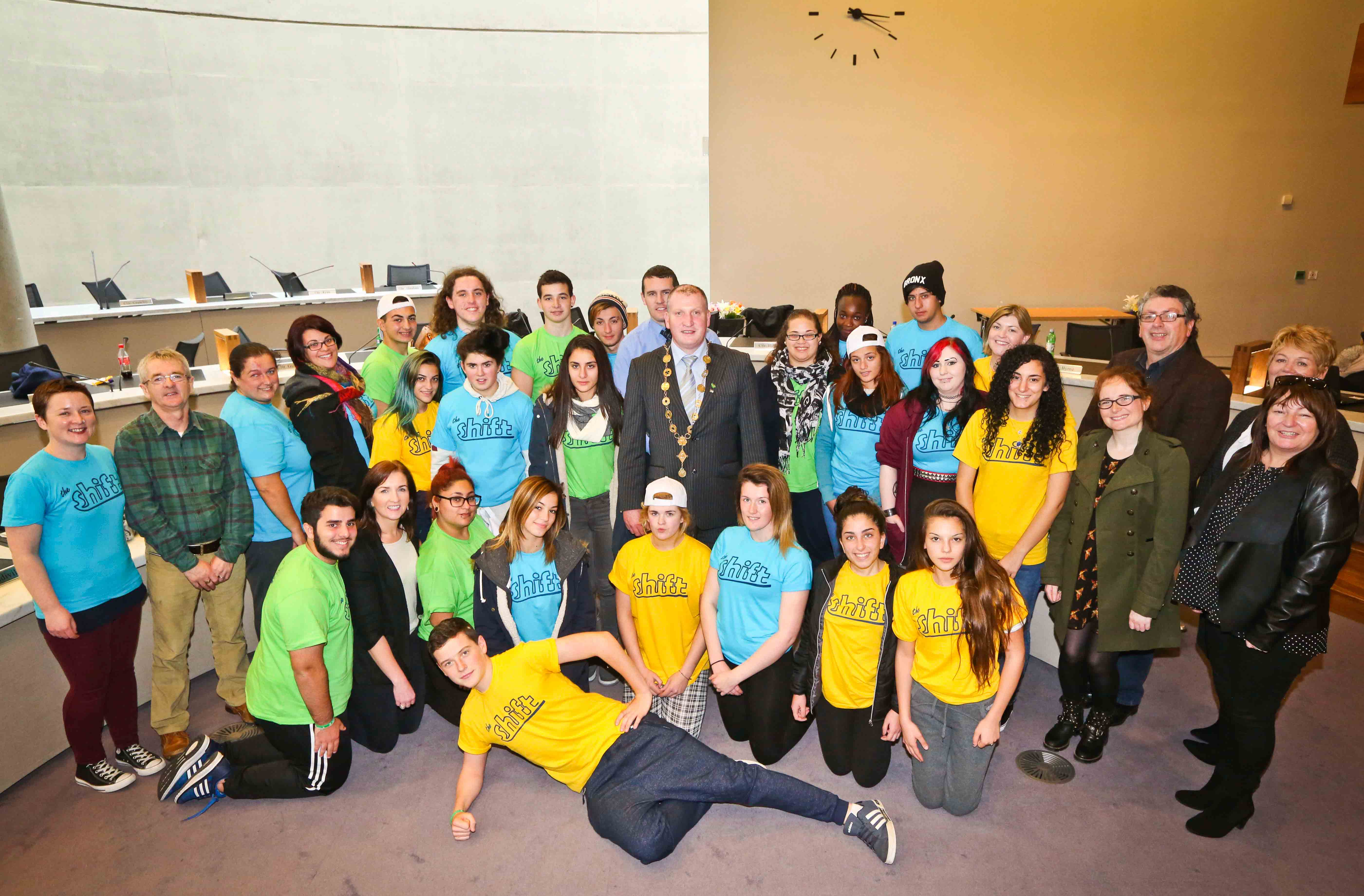 The Shift youth programme with Limerick Youth Service