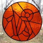 Capricorn Stained Glass