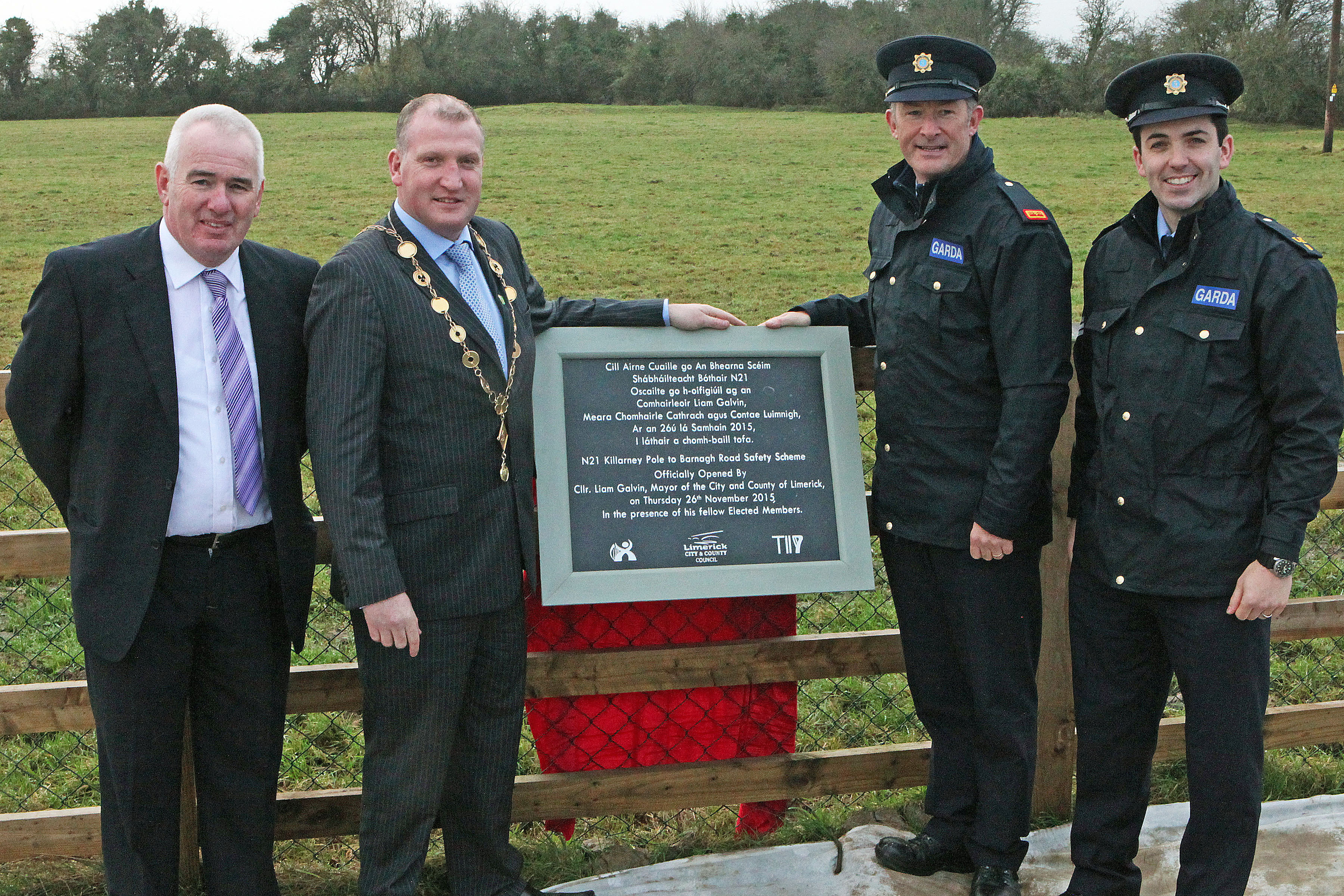 Opening of new Limerick Road Project