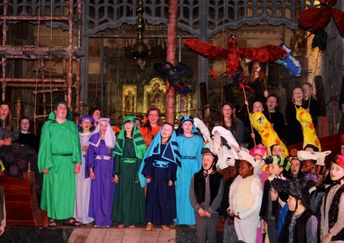 Marys Cathedral Noyes Fludde Reunion & DVD launch