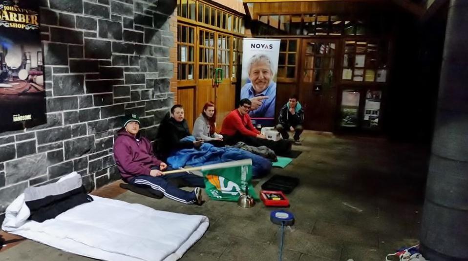 Sinn Fein UL raise funds for Novas Initiative