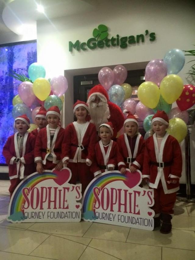Sophies Journey Santa Visit 2015