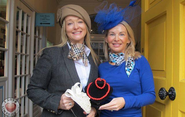 Lady Mucks with DIY Hats