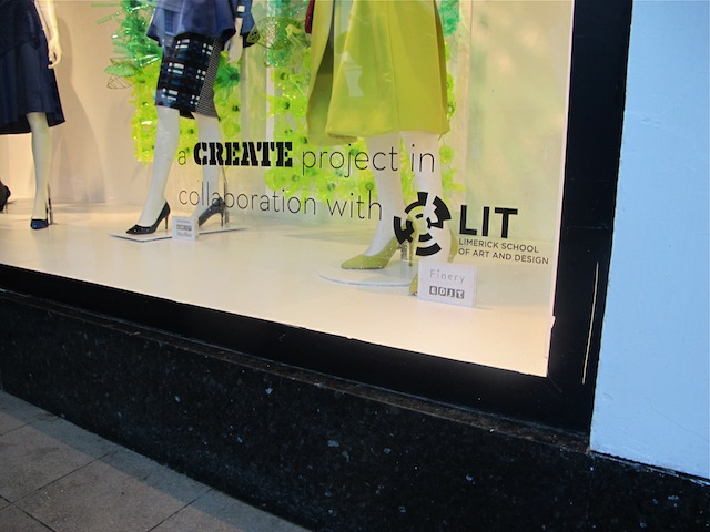 LSAD create Brown Thomas window