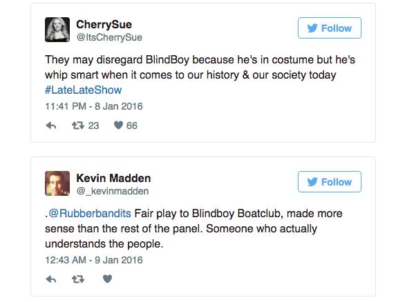 Blindboy of the Rubberbandits