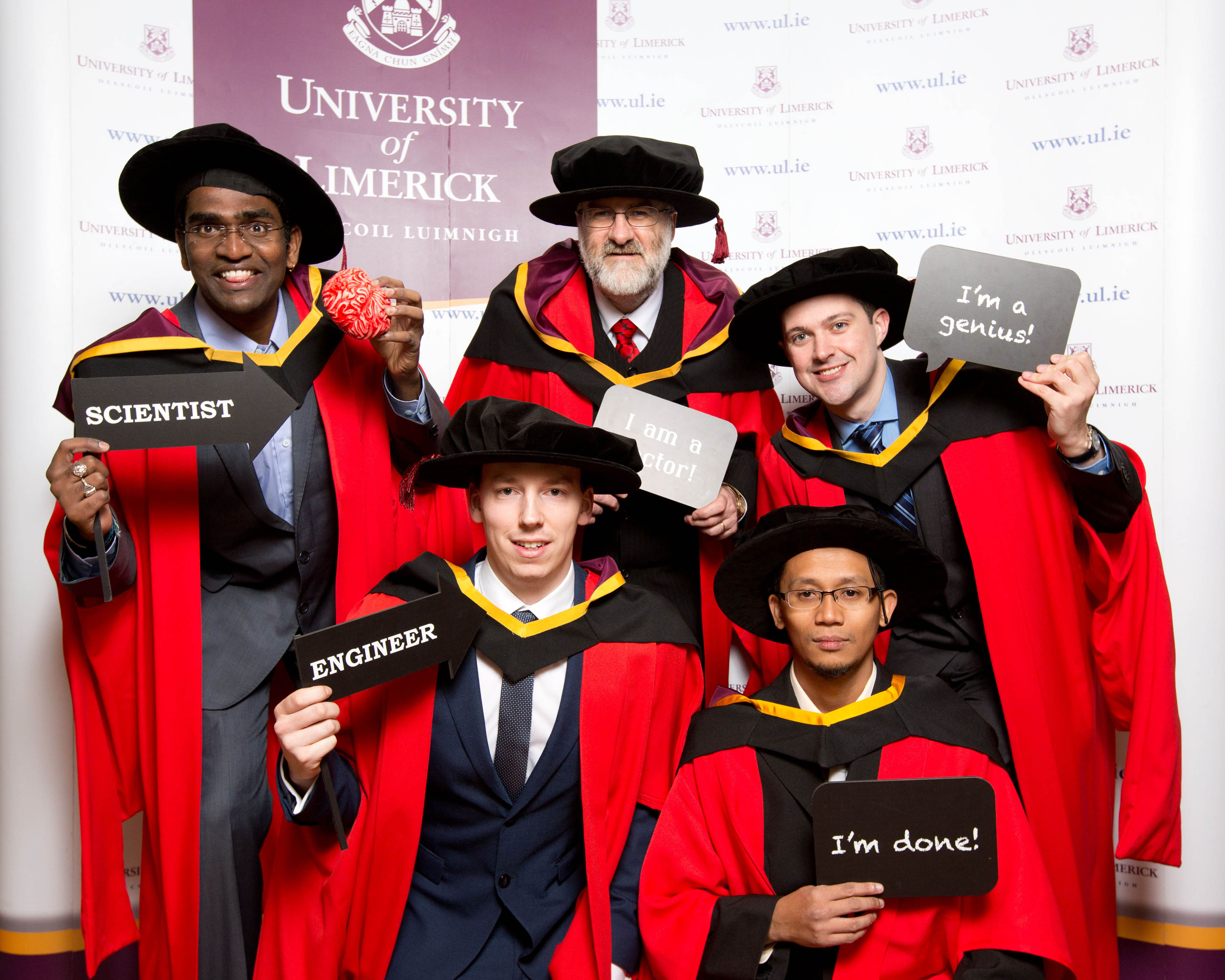 students graduate from the University of Limerick