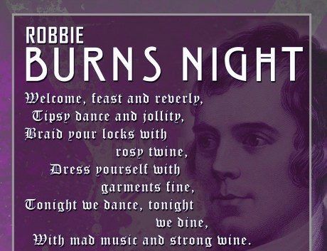 Robbie Burns night 2016