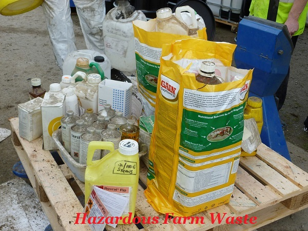 Free Hazardous waste Disposal