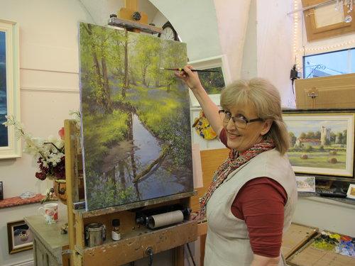 Artist Annemarie Bourke