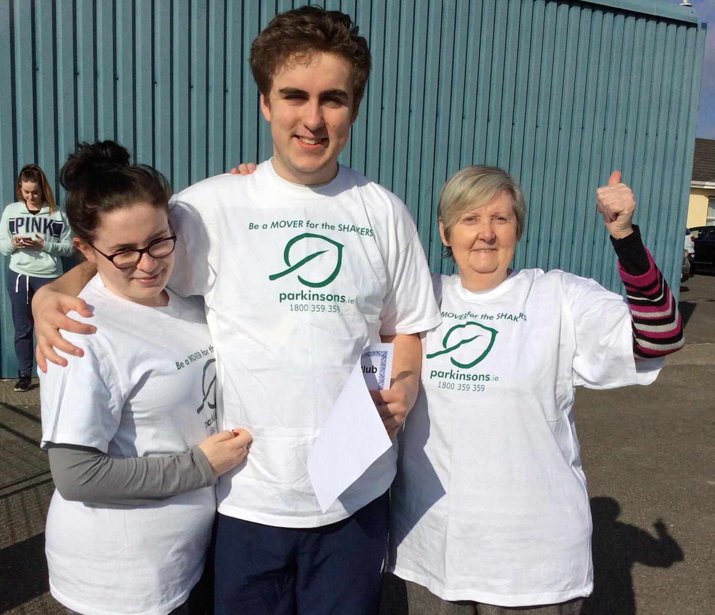 Ruairi Maddens Parkinsons Awareness parachute jump