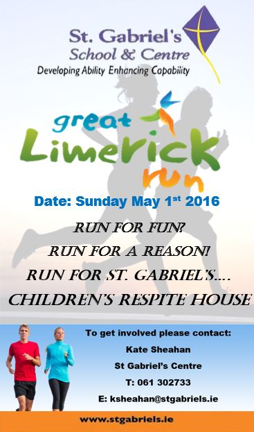 St Gabriels Great Limerick Run