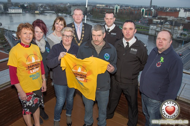 Limerick Darkness into Light 2016 Launch
