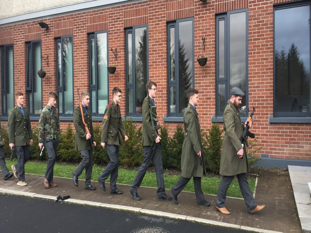 Easter Rising St Munchins College