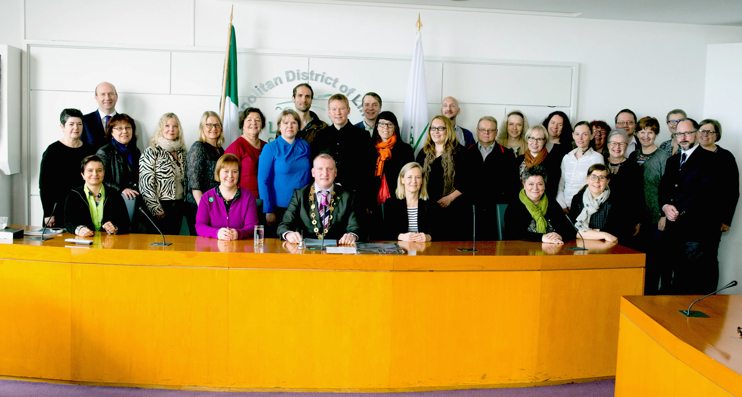 Finnish delegation visited Limerick