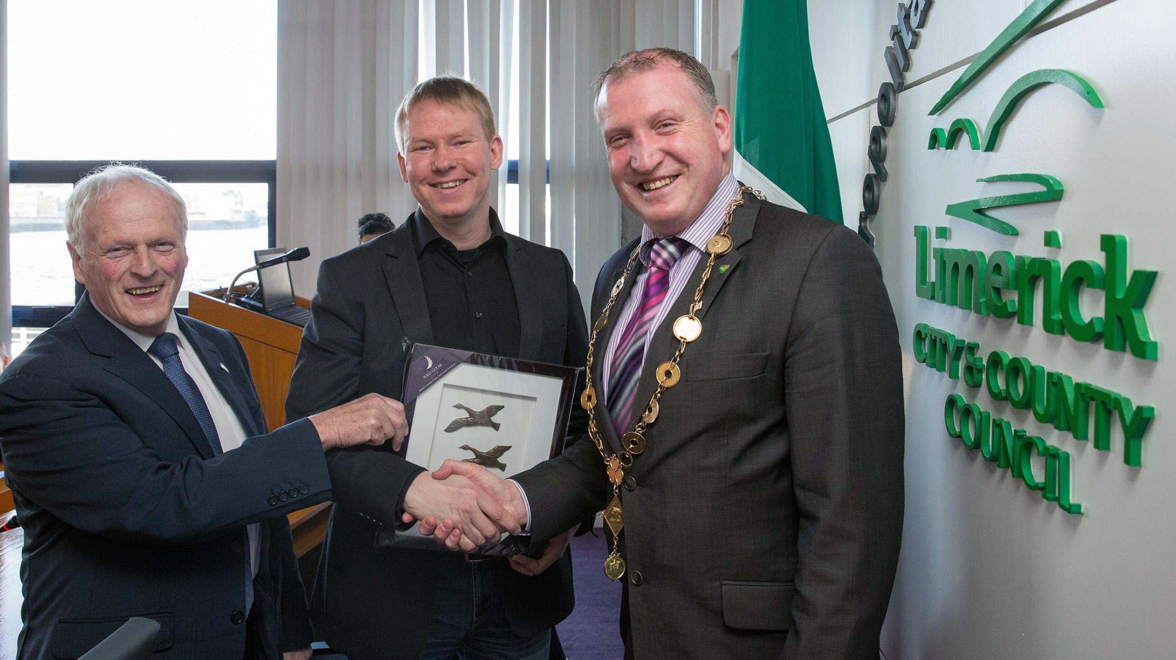 Finnish delegation visited Limerick