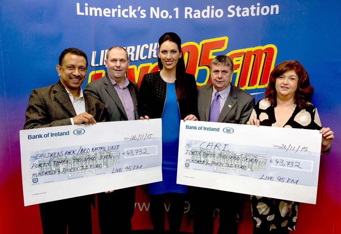 Live 95FM National Fundraising Ireland Awards