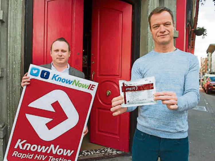 Free HIV testing for Limerick City thanks to KnowNow Ireland