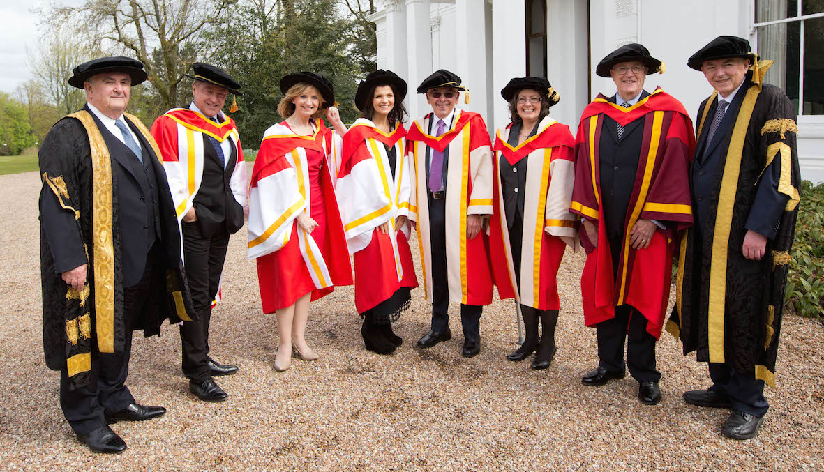 UL Confers Six Honorary Doctorates on exceptional individuals