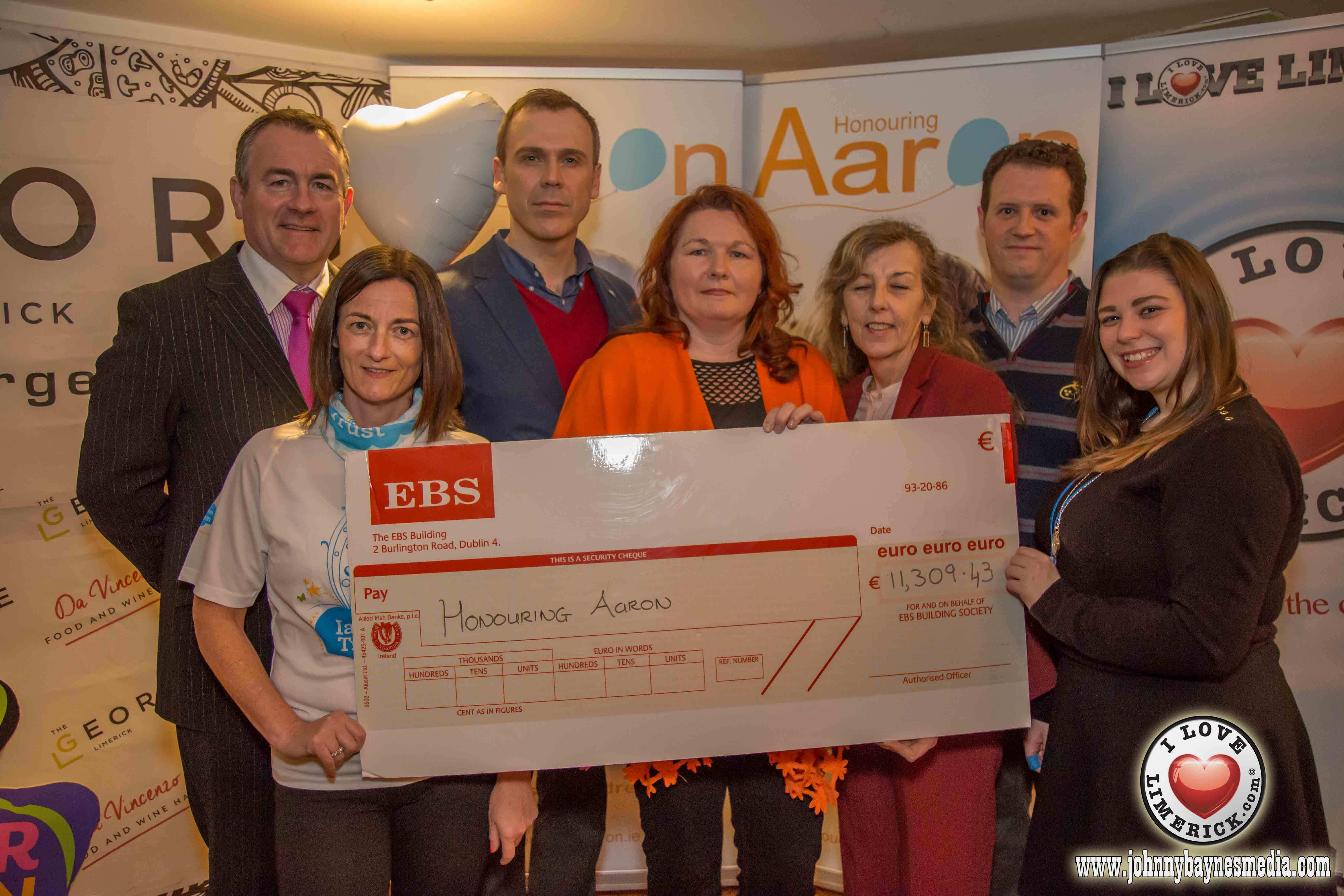Do the Barringtons Great Limerick Run for Honouring Aaron