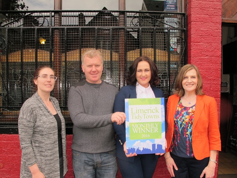 Limerick Tidy Towns Monthly Award May 2016
