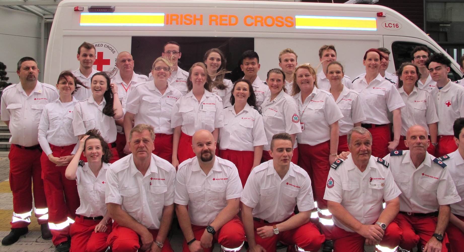 Irish Red Cross Awards 2016