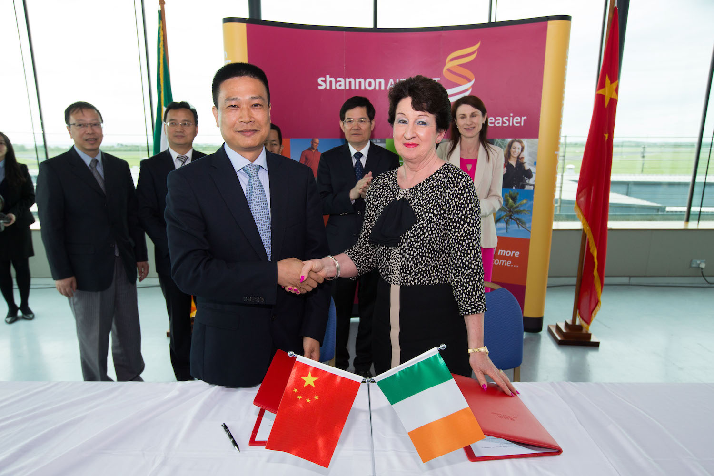 shannon group signs china partnership