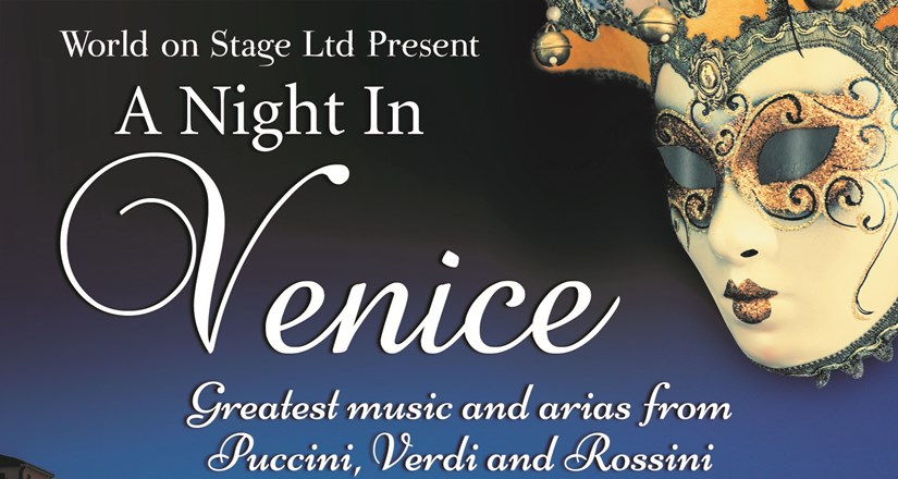 A Night in Venice starring Jonathan Ansell at UCH