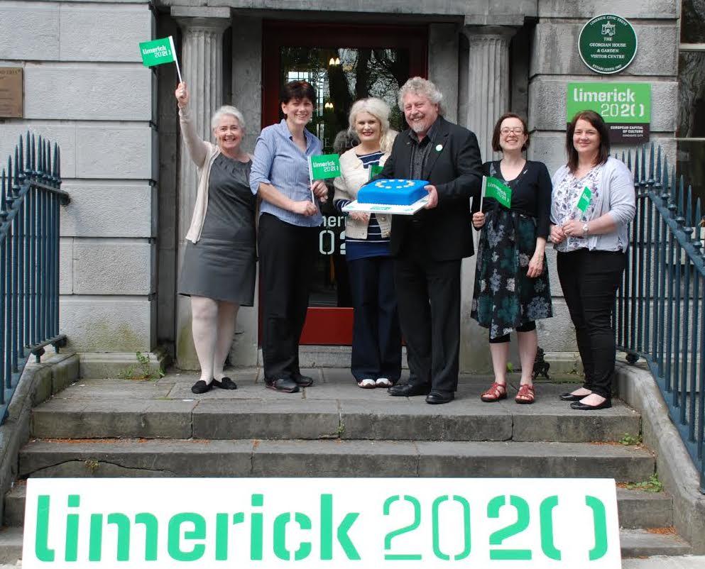Limerick 2020 marks Europe Day