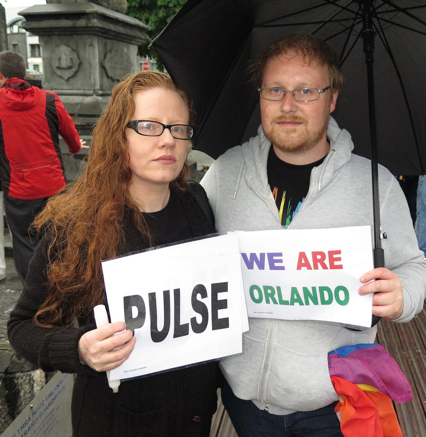 Limerick LGBT Community honour Orlando victims