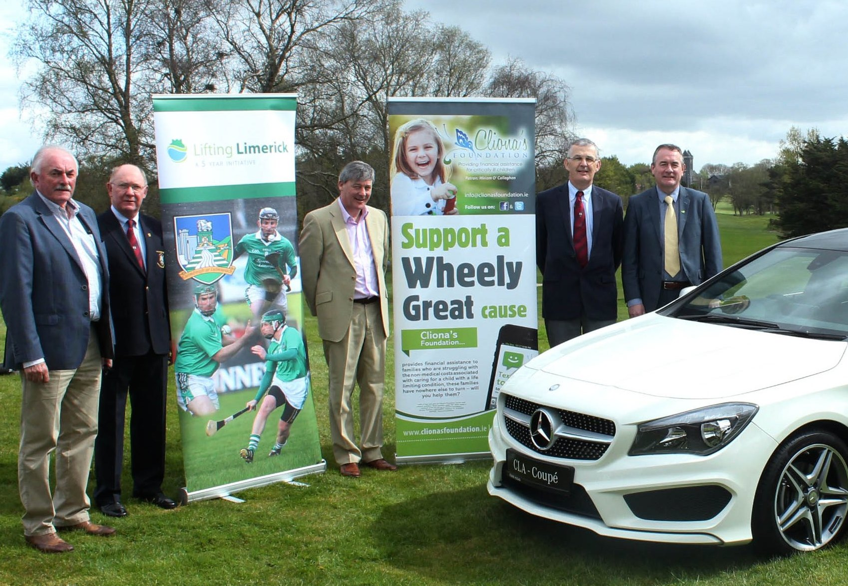 Lifting Limerick Annual Golf Event in aid of Clionas Foundation